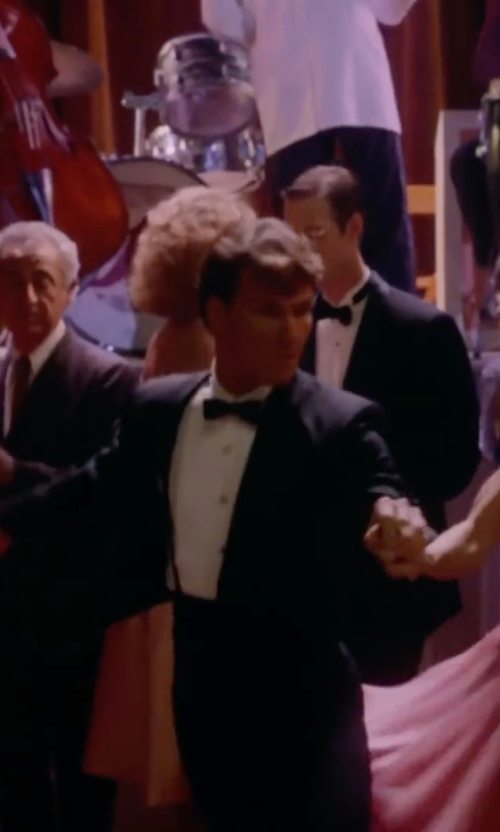 Patrick Swayze with Hackett Silk Bow Tie in Dirty Dancing