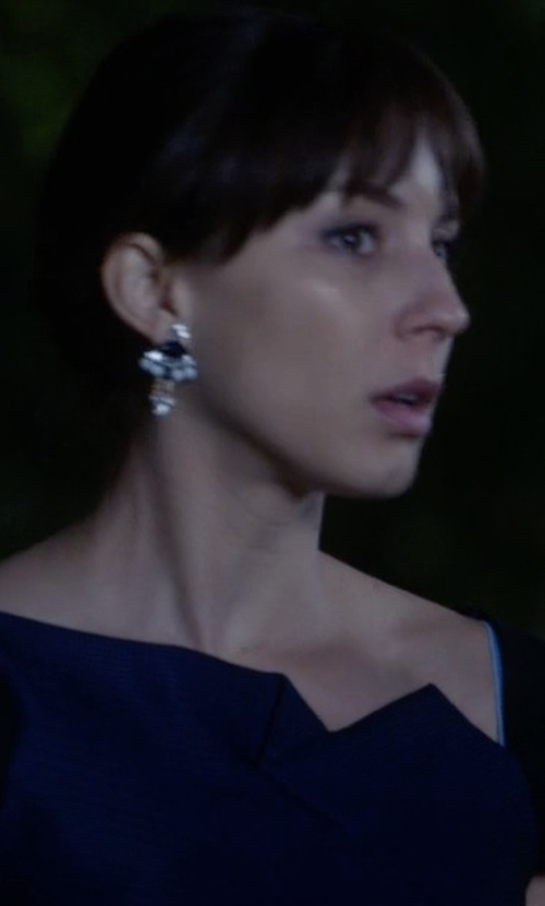 Troian Bellisario with Lionette by Noa Sade Mali Earrings in Pretty Little Liars