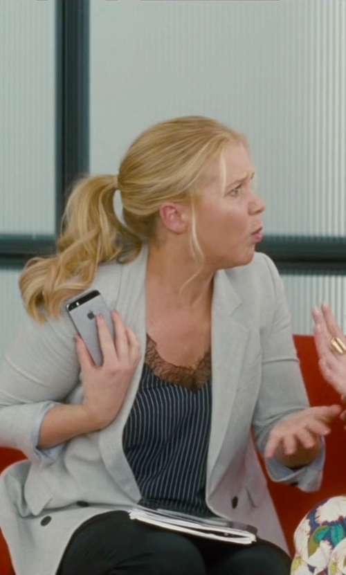 Amy Schumer with Anne Klein Straight Leg Pants in Trainwreck