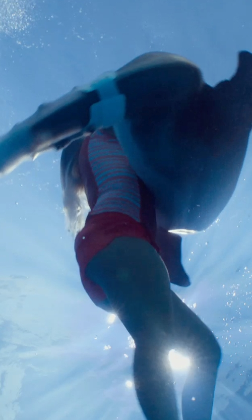 Bethany Hamilton with Adidas by Stella McCartney Studio Shorts in Dolphin Tale 2