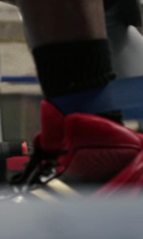 Michael B. Jordan with Adidas Response 3.1 Sneakers in Creed