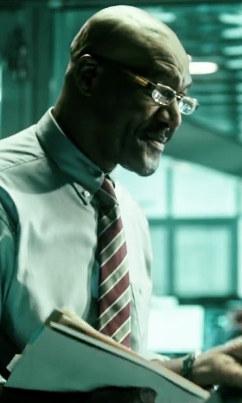 Delroy Lindo with Emporio Armani Rimless Eyeglasses in Point Break