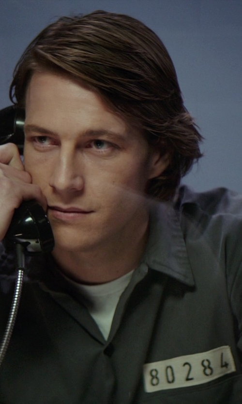 Luke Bracey with Ruth E. Carter Custom Made Prison Uniform (Younger Dawson) in The Best of Me