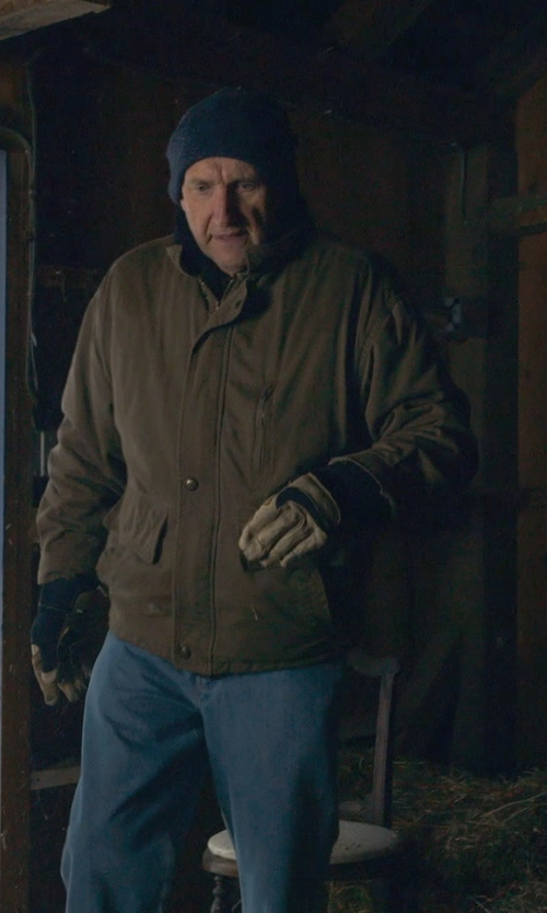 Peter McRobbie with Helly Hansen 'Dubliner' Waterproof Jacket in The Visit