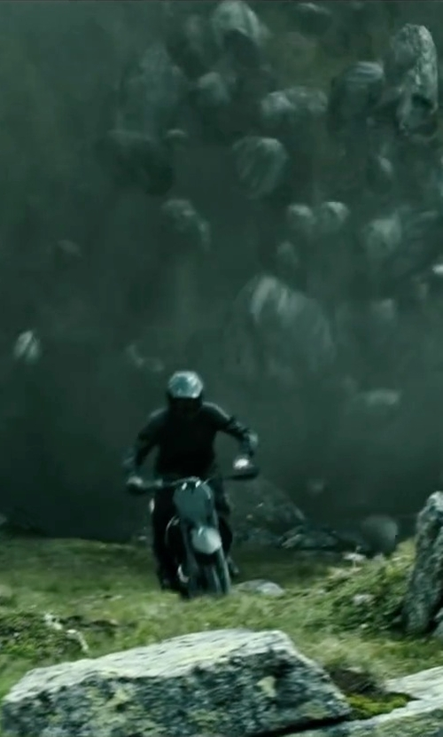 Édgar Ramírez with HJC Helmets Solid Off-Road Motorcycle Helmet in Point Break