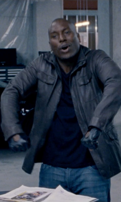 Tyrese Gibson with Kuro Denim Pants in Fast & Furious 6