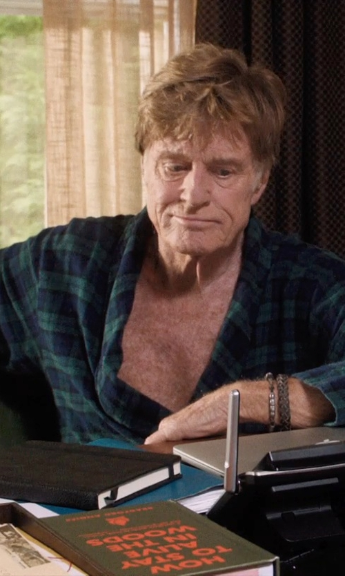 Robert Redford with Pendleton Lounge Robe in A Walk in the Woods
