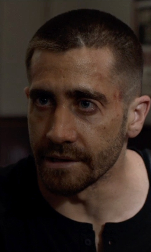 Jake Gyllenhaal with Vince Favorite Jersey Long Sleeve Henley Shirt in Southpaw