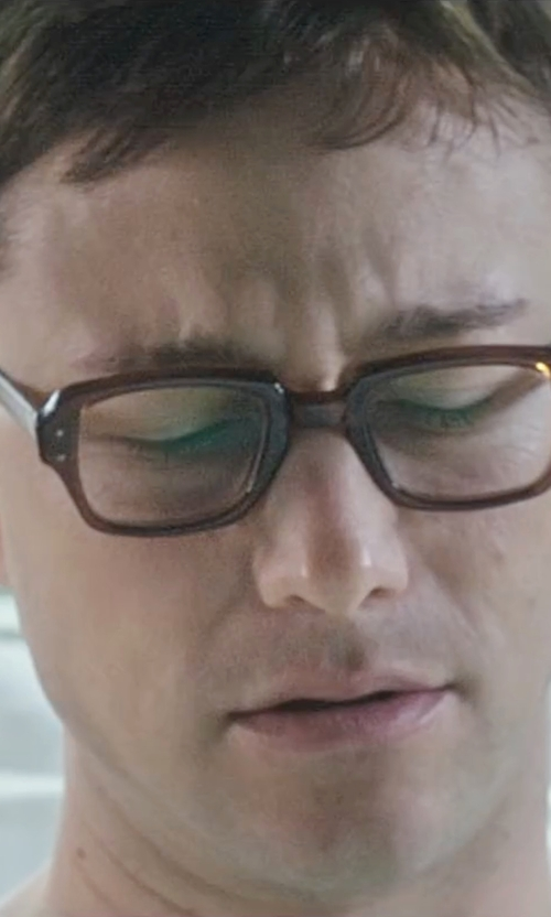 Joseph Gordon-Levitt with Booth & Bruce P054 Designer Glasses in Snowden
