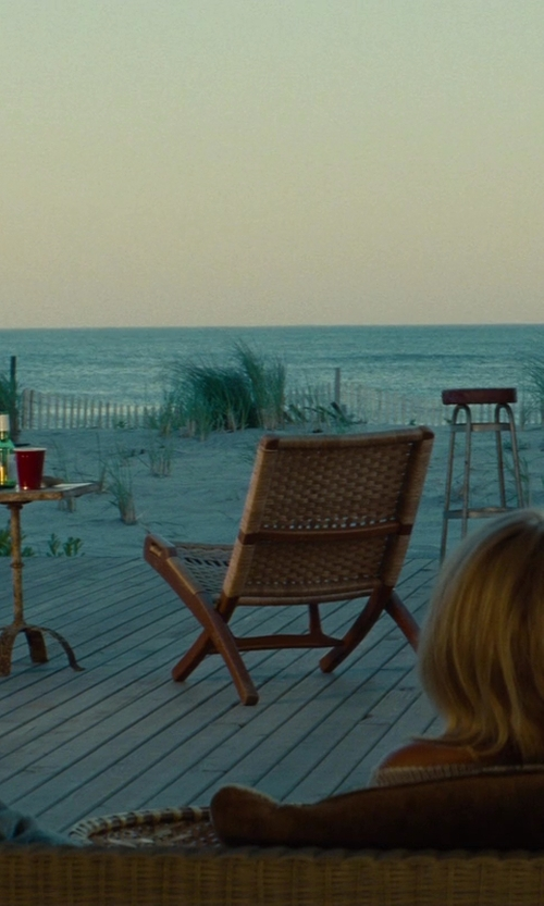 Taylor Kinney with Copacabana Wood Swing Chair in The Other Woman