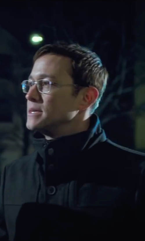 Joseph Gordon-Levitt with Napapijri Techno Fabric Jacket in Snowden