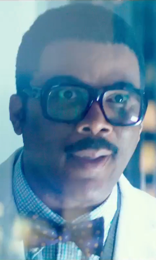 Tyler Perry with Spy Reed Rectangular Eyeglasses in Teenage Mutant Ninja Turtles: Out of the Shadows