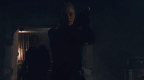 Charlize Theron with NorthStar Tactical Assault Vest in The Fate of the Furious