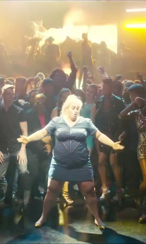Rebel Wilson with Who*s Who Short Sequin Dress in How To Be Single