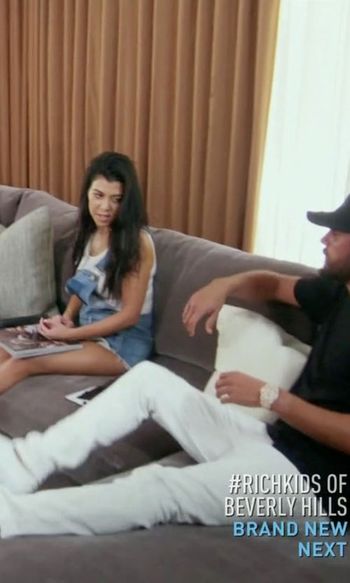 Scott Disick with Common Projects Slip On Sneakers in Keeping Up With The Kardashians