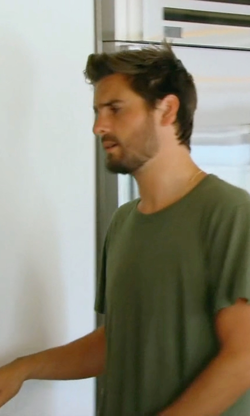 Scott Disick with John Elliot + Co Mercer Tee in Keeping Up With The Kardashians