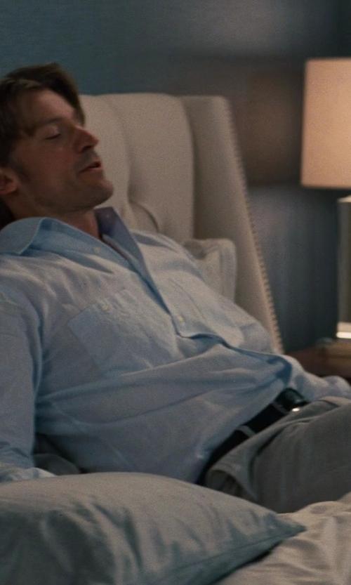 Nikolaj Coster-Waldau with Billy Reid Rosedale Shirt in The Other Woman