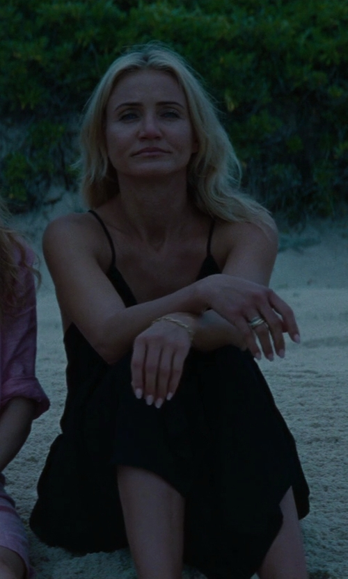 Cameron Diaz with Mikoh Driftwood Maxi Dress in The Other Woman