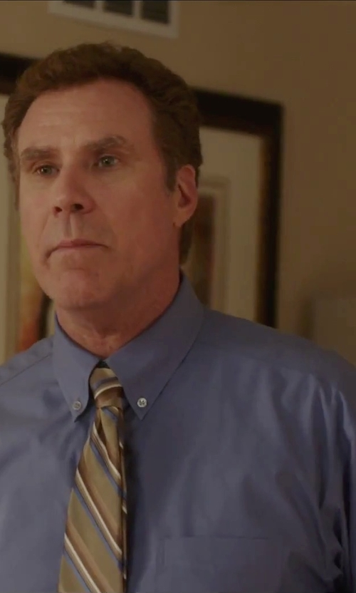 Will Ferrell with Eddie Bauer Pinpoint Oxford Shirt in Daddy's Home