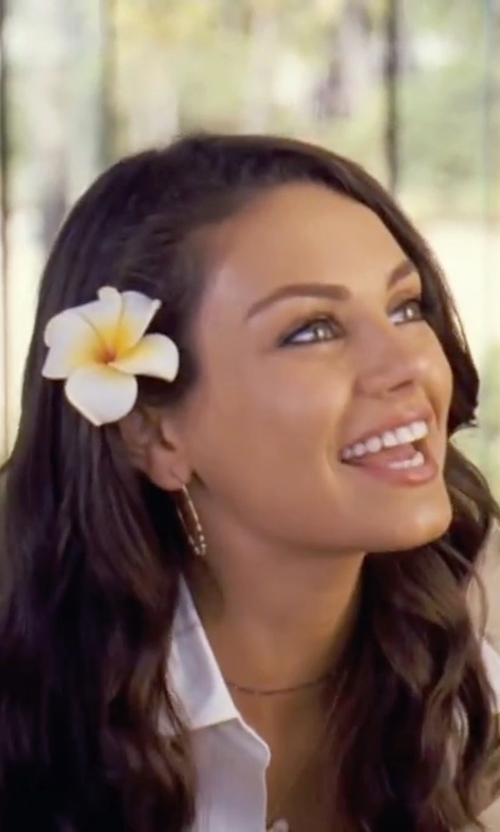 Mila Kunis with Dsquared2  Blazer Jacket in Forgetting Sarah Marshall
