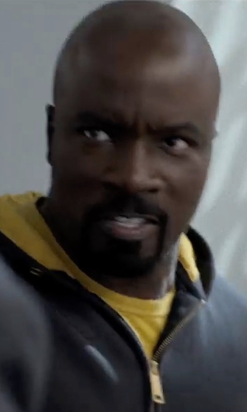Mike Colter with Simon Miller Jackson Tee in Marvel's The Defenders