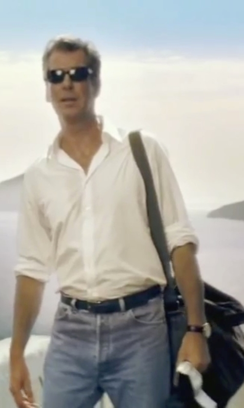 Pierce Brosnan with Ben Sherman Leather Strap Watch in Mamma Mia!