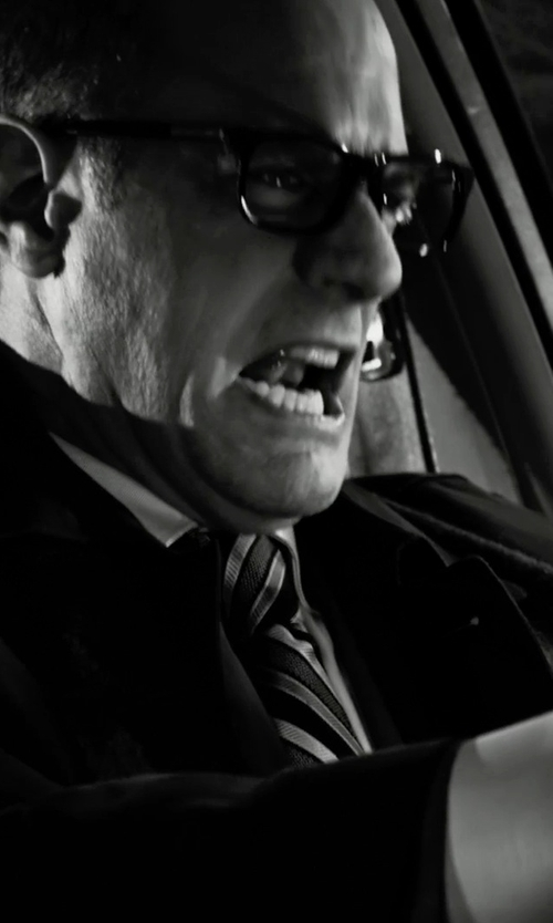 Christopher Meloni with DKNY Highway Stripe Slim Tie in Frank Miller's Sin City: A Dame To Kill For