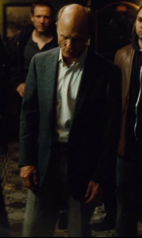 Ed Harris with Canali Wool Trousers in Run All Night