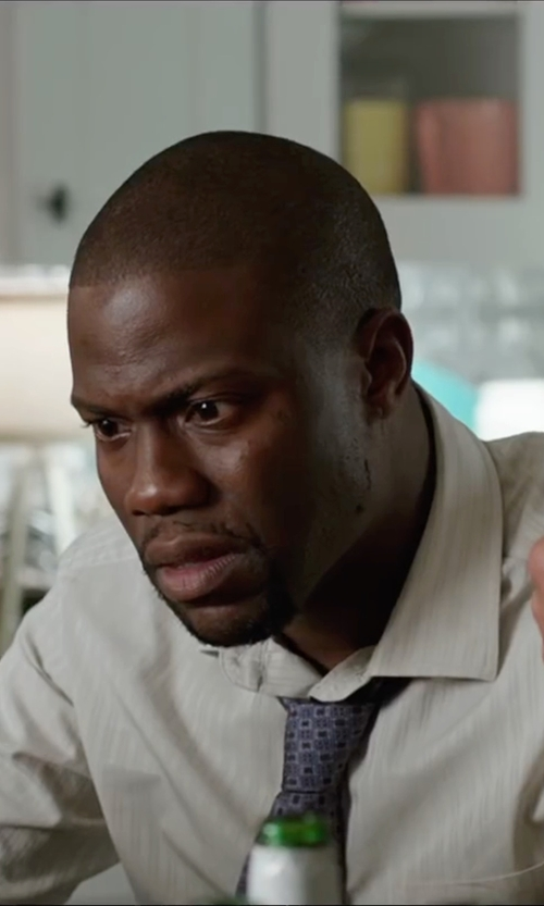 Kevin Hart with John W. Nordstrom Medallion Silk Tie in Central Intelligence