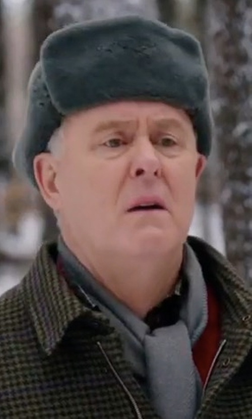 John Lithgow with Haggar Felt Trapper Hat in Daddy's Home 2