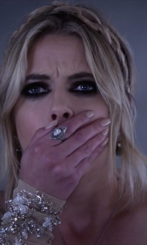 Ashley Benson with Bauble Bar Galactica Ring in Pretty Little Liars