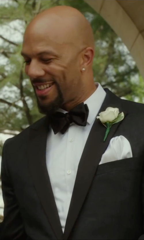 Common with Eton Silk Bow Tie in Barbershop: The Next Cut