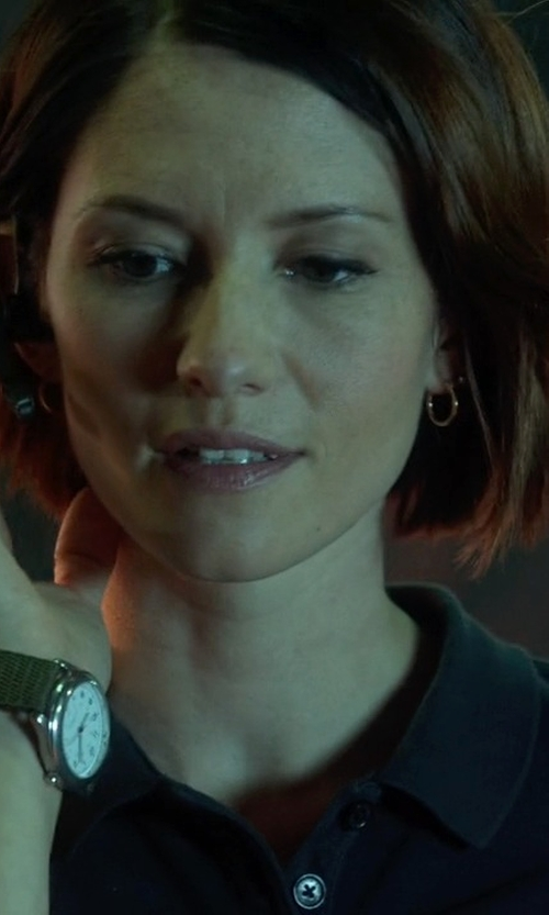 Chyler Leigh with Timex Weekender Unisex Watch in Supergirl