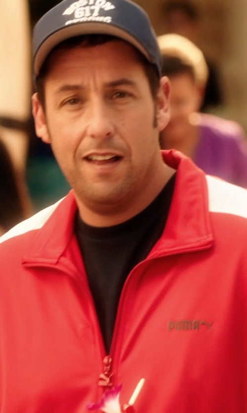 Adam Sandler with WINGS+HORNS 'Sashiko' crew neck t-shirt in Blended