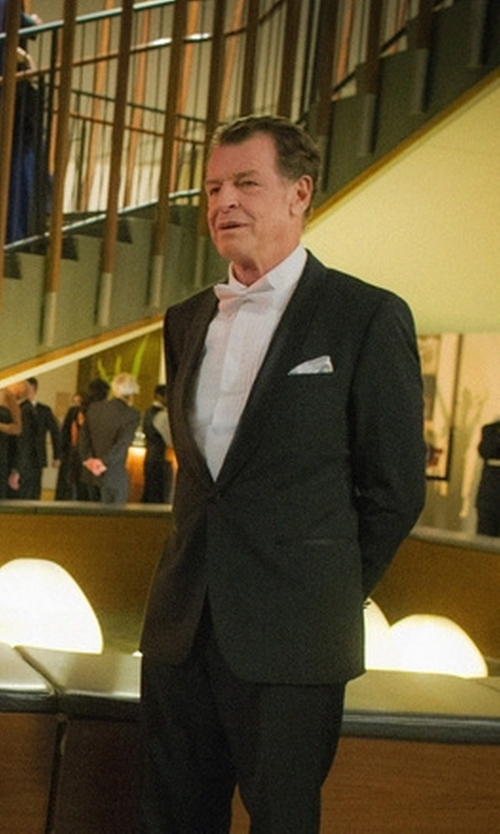 John Noble with Rodney Silk Bow Tie in Elementary