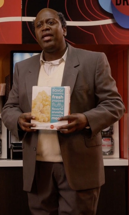 Tituss Burgess with Ted Baker London Trim Fit Solid Wool Suit in Unbreakable Kimmy Schmidt