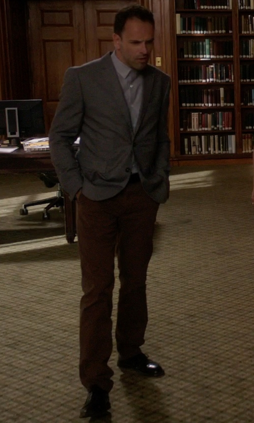 Jonny Lee Miller with Clarks Men's Gleesonday Gtx Oxford Shoes in Elementary