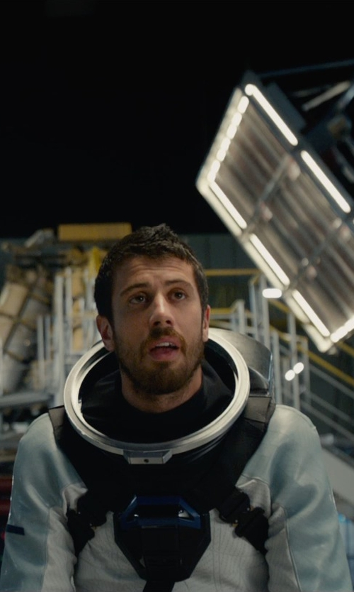 Toby Kebbell with George L. Little (Costume Designer) Custom Made Astronaut Suit (Victor Domashev) in Fantastic Four