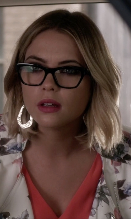 Ashley Benson with Jones New York Cat-Eye Eyeglass in Pretty Little Liars