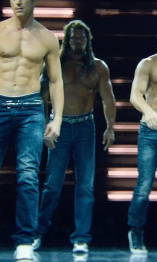 Kevin Nash with Bikkembergs Low-Top Sneakers in Magic Mike XXL
