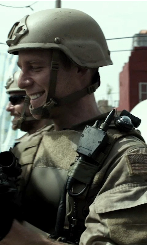 Jake McDorman with Propper NYCO Ripstop ACU Coat in American Sniper