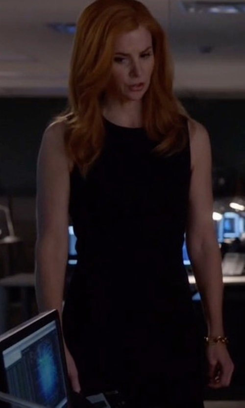 Sarah Rafferty with Theory Eano B Dress in Suits
