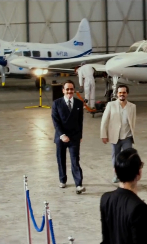 Bryan Cranston with Ermenegildo Zegna Double Breasted Suit in The Infiltrator