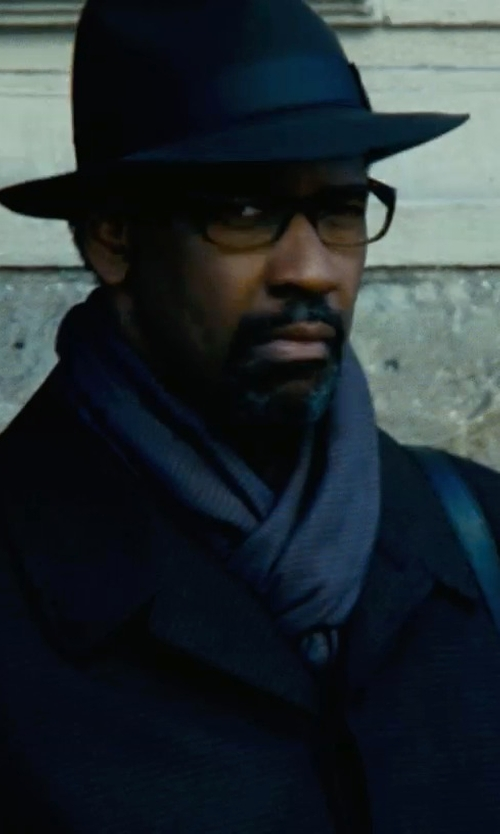 Denzel Washington with Glory Hats by Goorin Wool Fedora Hat in Safe House