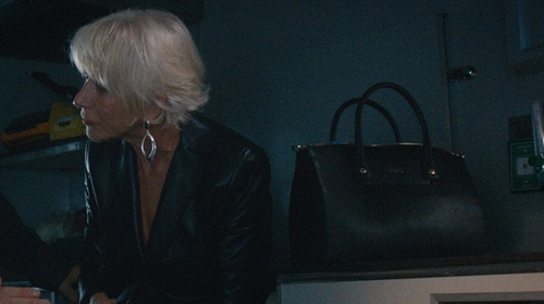 Helen Mirren with Furla Small Linda Carry-All Tote Bag in The Fate of the Furious