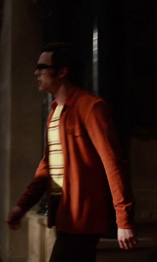 Nicholas Hoult with Alfani Spectrum Slim-Fit Solid Dress Shirt in X-Men: Days of Future Past