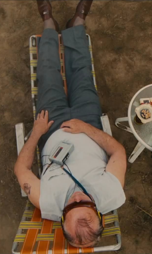 Bill Murray with Sony Walkman Compact Portable Lightweight AM/FM Stereo Radio in St. Vincent