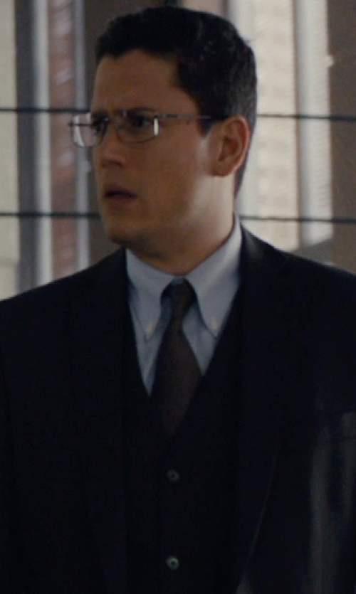 Wentworth Miller with Arrow Men's Basic Vest in The Loft