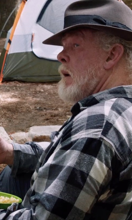 Nick Nolte with Big Agnes Helinox Chair One Camp Chair in A Walk in the Woods
