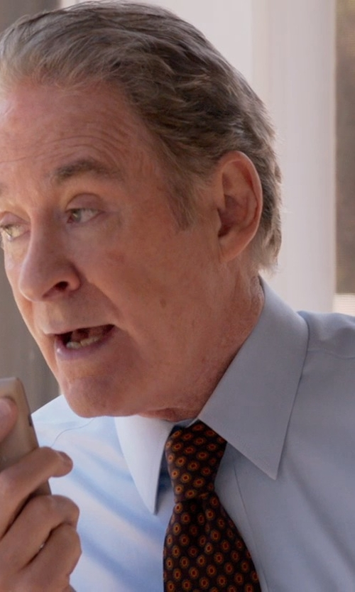 Kevin Kline with Salvatore Ferragamo Silk Flower & Butterfly Print Tie in Ricki and the Flash